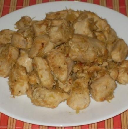 Експресни пилешки късчета с праз - само шепа съставки и страхотен вкус