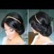 Как да си направим: много симпатична и лесна прическа с лента за коса (Видео)