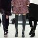 Ботуши над коляното, мода 2013