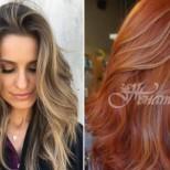Модерни техники на боядисване на косата за есен 2018