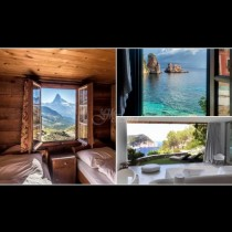 Хотелските стаи с най-красивата гледка! Няма да искате да излезете (Снимки)