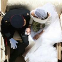 Ето тайната зад най-известната снимка от сватбата на Хари и Меган!
