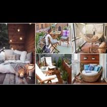 Балкони, на които ще искате да прекарате цялото лято (Идеи+Снимки)