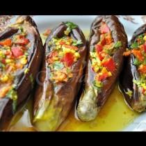 Умопомрачителни мариновани патладжани по египетски-Вкуснотия голяма!