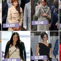 Ето най-известните рокли и палта на Меган Маркъл и тяхната цена
