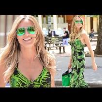 Хайди Клум се появи в модна комбинация, която е абсолютен хит за това лято! Но ето защо всички говорят за обувките й (Снимки)