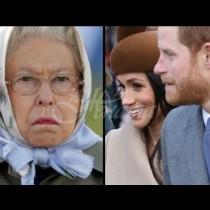 Погледът на кралица Елизабет се издава понася ли Меган Маркъл