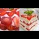 Имах една кошничка с ягоди и подготвих най-летния десерт снощи: 30 минути, 300 грама плодове и 100 грама бисквити