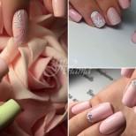 10 идеи за маникюр в нежно розово