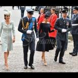 Златната четворка на кралския двор-Ето къде се появиха заедно и кой дизайнер предпочете Кейт