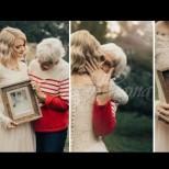 Баба й се зарадва много, когато тя реши да използва нейната рокля за сватбата-Удивително е, колко красива е и днес!