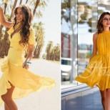 Комбинации в жълто за лято 2018
