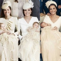 Защо Кейт Мидълтън носи едни и същи дрехи на кръщенето на трите си деца