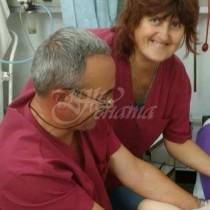 Фелдшери и санитарка спасиха живота на 21-годишна родилка и бебе, родено в 6-тия месец, тежащо 850 грама