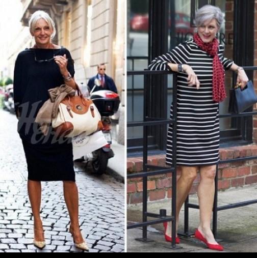 10 смели облекла за жени на 50 години- бъдете красиви, стилни и привлекателни (снимки)