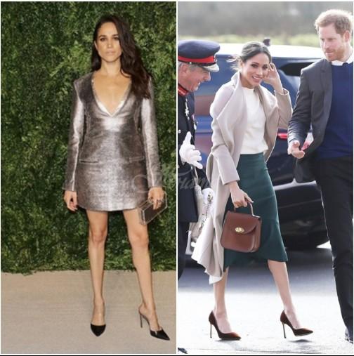 Еволюцията в стила на Меган Маркъл-Ето колко се промени начинът ѝ на обличане, след като се запозна с Хари