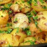 Неописуем аромат, златна коричка, сочен бекон- нов готин начин да изпечете картофите си