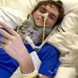 Господ го пази! Той пребори рак на мозъка, оцеля в катастрофа с почти откъсната глава