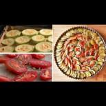 Как да си направим огретен от тиквички и домати