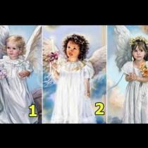 Получете послание от един от ангелите, които си изберете