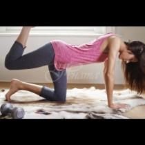 Бързо стягане на бедрата у дома с лесни упражнения