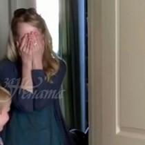 Съпруга се прибира у дома след отсъствие през уикенда: Вижда спалнята и избухва в сълзи