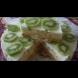 Бърза и лесна бисквитена торта с кисело мляко