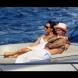 Луда страст след 19 г. брак: Дейвид Бекъм и Виктория по бански на ултра луксозната яхта на Елтън Джон-СНИМКИ