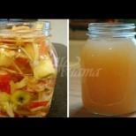 Лечение на цистит и безплодие с ябълков оцет