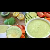 Този сос от авокадо и лимон ще превърне всяка салата в божествена наслада
