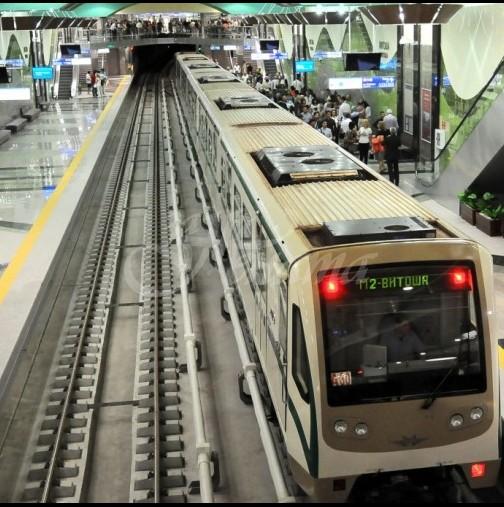 Страшен инцидент в метрото в София