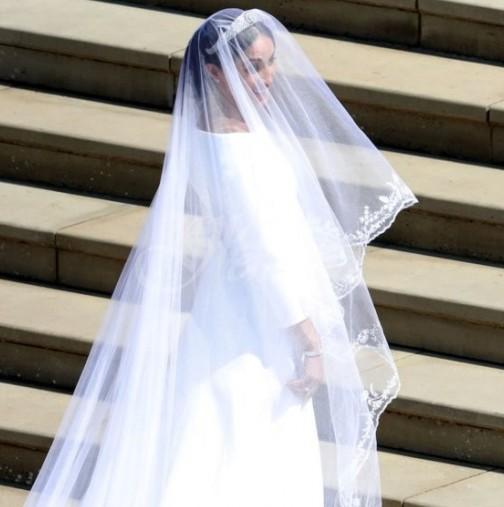 Меган Маркъл със сантиментално признание: Разкри една от сватбените си тайни