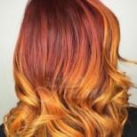 Топ тенденцията тази есен- огън в косите (15 идеи за прически)