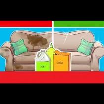 Дори безнадеждно мръсния диван може да бъде спасен! Ето как да премахнете всякакви петна от меката мебел в къщи.