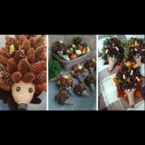 Радост за децата, забавление за жената и красота за покъщината (много идеи за есенна украса)