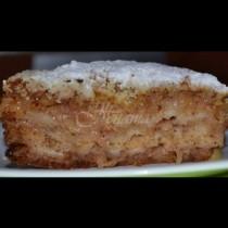 Най- лесният сладкиш с ябълки без мляко и яйца. Заради своята простата, спечели любовта на всяка жена