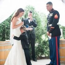 Булка разплака доведения си син на сватбата с думите, които изрече