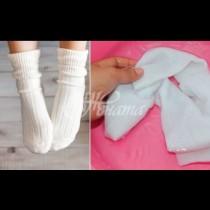 Бързо, лесно и без белина: 2 изпитани метода, които ще накарат и най-отчайващо мръсните чорапи да засияят от белота!