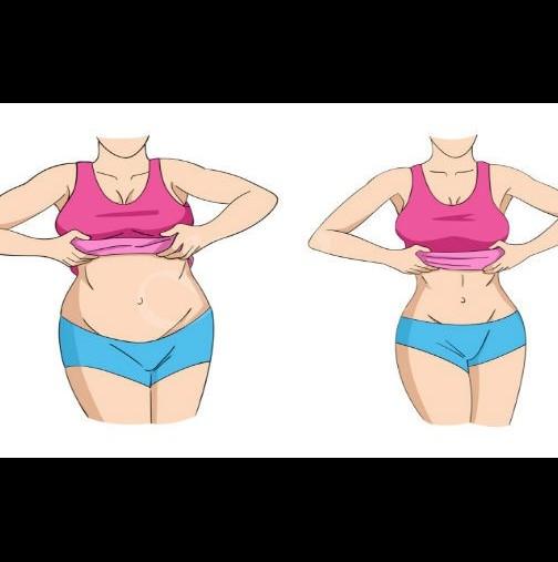 Упражнение за отслабване в корема и стягане на гърба