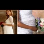 Приказни сватбени рокли за бъдещи мами - с тях щастието в най-важния ден ще е двойно!