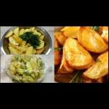 Най- лесната и вкусна рецепта за картофи за натоварени домакини, без цапане на съдове и загаряне на тави