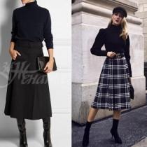 Как да носим поли тази есен и зима- модни тенденции 2018-19, докосна всички жени (снимки)