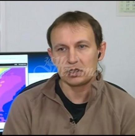 Дежурният синоптик от НИМХ към БАН Христо Христов-Гответе се за кучи студ!