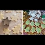 Най- лесните Коледни сладки, за които сте чували- правят се за 10 минути и за още толкова се печат