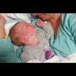 Докосвайки майчината гръд, новороденото заспа. 10 минути по-късно всички уреди в стаята полудяха: