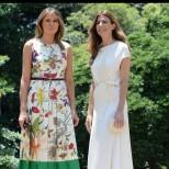 Мелания и първата дама на Аржентина събраха всички погледи с тоалетите си (снимки)