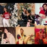 Български звезди се надпреварват кой ще пусне по-хубава снимка от посрещането на Коледа