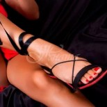 Формата краката й показва, дали е тигрица, или скучна лелка