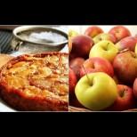 Наричат го Кехлибарена торта и определено е най-върховната вкусотия с ябълки: