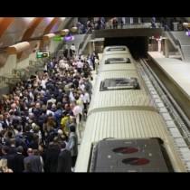 Драма в метрото тази сутрин